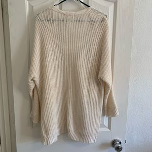 Pink Rose Sweaters - Chunky knit cardigan